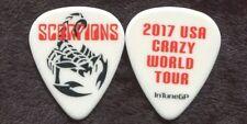 SCORPIONS 2017 World Tour Guitar Pick!!! custom concert stage Pick