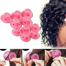 10pcs Silicone Hair Curler Magic Hair Care Rollers No Heat Hair Styling Tool .