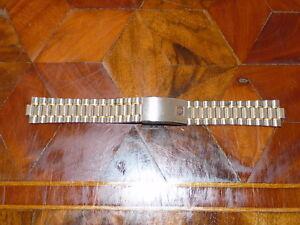 Original Omega Speedmaster Steel Strap 18mm Bracelet 1469/811 100% Genuine