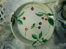 Emma Bridgewater Round Tin Tray - Country Garden Cherry Pie - 30cm