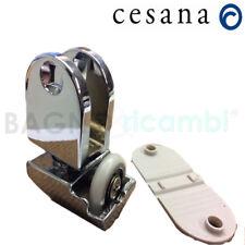 Ricambio carrello completo di ruota Cesana Tecnoglass curvo 63590051001