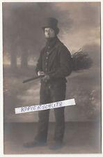 Foto Ak Schornsteinfeger Essenkehrer Kaminkehrer Zunftkleidung um 1910 ! (A2502