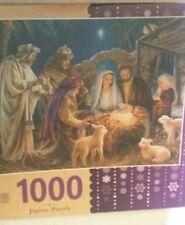 1000 Piece Jigsaw Puzzle A Child Is Born Dona Gelsinger MasterPieces Holy Family