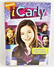 iCarly DVD Season One 1 Volume One 1 2008 Nickelodeon Two Disc Set Free Shipping