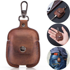 Retro Genuine Leather Airpods Earphone Protective Cover Case For AirPod iPhone