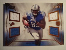 2014 Topps Prime Eric Ebron Quad Game Used Jersey Rookie Card #'d 87/99