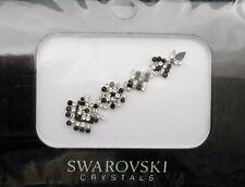 Bindi bijoux piel boda frente strass cristal de Swarovski negro D ING 3679