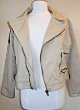 Miss Posh Size XL beige outdoor Trooper style zipped jacket