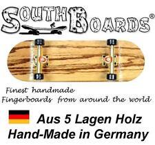 Elegante Board Set Zebra/GO/SWZ-southboards ® handmade wood Fingerboard Ponte, legno