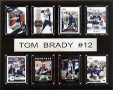 C & I Collectables 1215BRADY8C NFL Tom Brady New England Patriots 8 Card Plaque