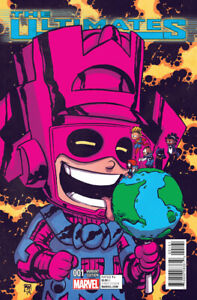 The Ultimates #1 (Skottie Young Baby Variant Cover) Marvel 2015 Series