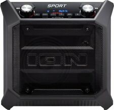 ION Audio - Tailgater Sport Bluetooth Wireless Portable Speaker Black IPX4
