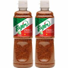 Pack of 2 Tajin Classic Fruit and Snack Seasoning Clasico 14oz Mexican Candy BIG
