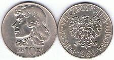 10 Zl Tadeusz  Kosciuszko 1969, RRR,