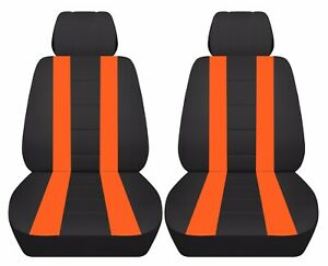 Fits 2009-2015 Mini Cooper  Cabrio/Clubman S front set car seat covers