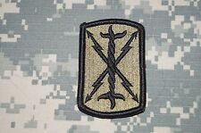 VELCRO ® Military Patch US Army 17th Field Artillery BDE MULTICAM Authentic USED