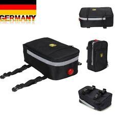 Gepäcktasche Gepäckträger Fahrradtaschen Wasserdicht Neu Fahrrad Packtaschen DHL
