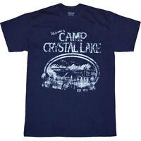 Friday The 13th Camp Crystal Lake T-Shirt New