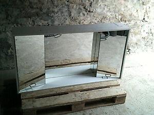 Großer Badezimmer Spiegel-Hänge-Schrank mit Beleuchtung 130x70x24.5cm !