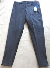 Damen Reithose mit  Vollbesatz ,blau,Gr.50, Chatorange (12)