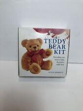 The Teddy Bear Kit Alicia Merrett Material Pattern Instructions New in Box Sew
