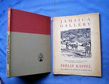 JAMAICA GALLERY: PHILIP KAPPEL 1960 HC/DJ 1st Ed WITH 25 PLATES OF DRAWINGS