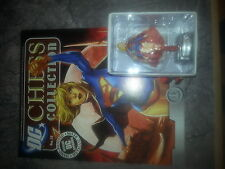 DC SUPER HERO CHESS COLLECTION #37 SUPERGIRL - NEW INCLUDING MAGAZINE