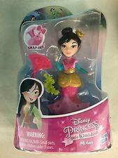 """Disney Princess Little Kingdom Mini Doll Classic MULAN Fan Snap-Ins 3"""""""