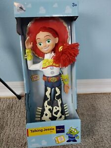 """Disney Parks Talking Jessie Toy Story Pull String 16"""" Figure Doll"""