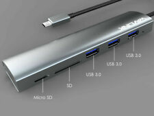Wavlink Aluminum USB-C HUB With Card Readers (WL-UH3047RC) - NEW™