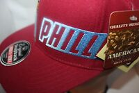 American Needle Philadelphia Phillies Front Window Snapback,Cap,Hat