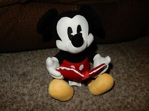 """LN The Disney Store 12"""" Valentine's Day MICKEY MOUSE Plush w/Heart Envelope"""