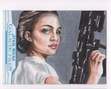 2017 Star Wars Galactic Files Reborn sketch card Anil Sharma