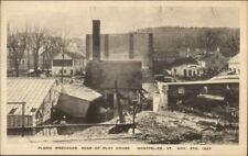 Montpelier VT 1927 Flood Damage VINTAGE EXC COND Postcard #23