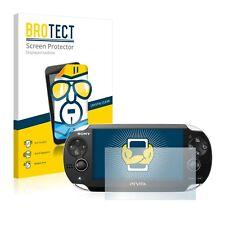 2x BROTECT Displayschutzfolie Klar Sony Playstation Vita Schutzfolie