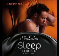Sunbeam BL5551 Sleep Perfect™ Pillowtop Heated Blanket - Queen Bed - RRP $269.00
