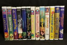 Lot of 13 Childrens VHS Clamshell classic Movies Disney and Others