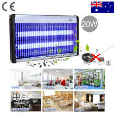 Electric LED UV Light Home Restaurant Mosquito Insect Killer Bug Fly Zapper Trap