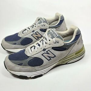 New Balance 993 Running Shoes Gray Blue MR993GNV Sz 11.5 D  Made in USA