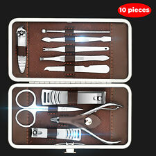 Manicure Tools Set Pedicure Nail Clippers Toe Stainless Steel Professional Tool