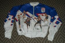 KELLOGG'S 1992 Team USA Basketball Dream Team TYVEK Windbreaker JACKET size L