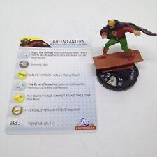 Heroclix DC75th Anniversary set Green Lantern #049 Super Rare figure w/card!