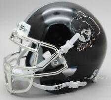 OKLAHOMA STATE COWBOYS (Pistol Pete Black/Chrome) Schutt XP Mini Helmet