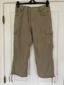 THE NORTH FACE Cropped 3/4 Walking/Hiking Paramount Trousers UPF50. US8 (UK12)