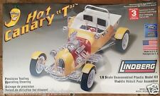 "Lindberg 1/8 Kit #73045: HOT CANARY ""T"" (Ford Model T Custom) HOT ROD; Oz seller"