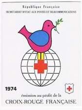 Frankrijk booklet postfris 1974 MHN 1898-1899 - Rode Kruis / Red Cross (K027)