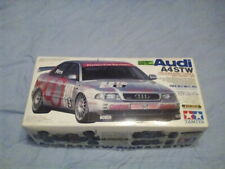 Tamiya 1/10 RC Audi A4 STW  Belt Drive Chassis 4WD Racing Car boxed +Attack SR