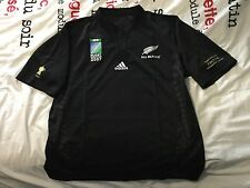 COLLECTOR - ÉDITION LIMITÉE Maillot Rugby All Blacks Coupe du Monde 2007
