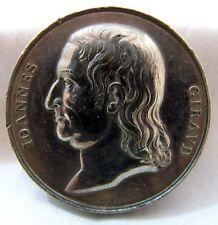 Johannes Giravd Medallion by G Girometti 1861 Rome Mint gEF 45mm 53g White Metal