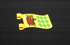 Playmobil moyen âge drapeau jaune aigle 3887 3123 5783